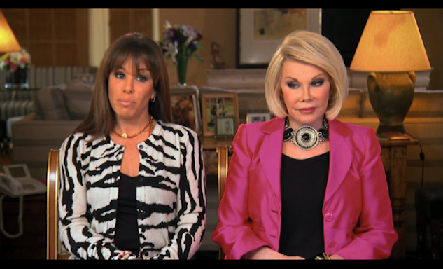 Catching Up With Joan and Melissa Rivers