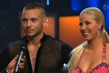 Anton Hysen Competes on 'Let's Dance'
