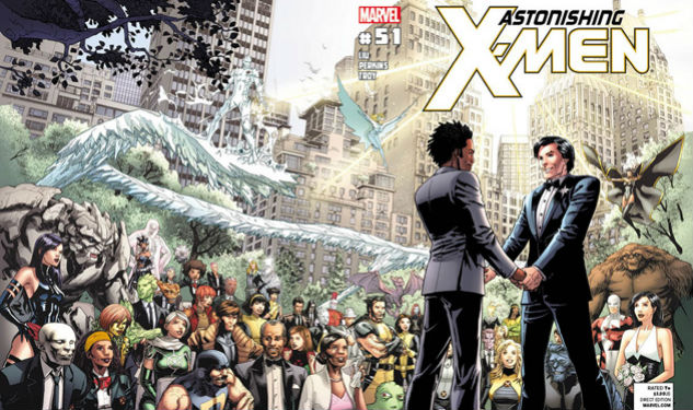Happening Now: Comic Book Characters Have Gay Weddings Too