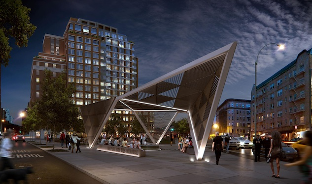 Final Design for NYC AIDS Memorial Unveiled