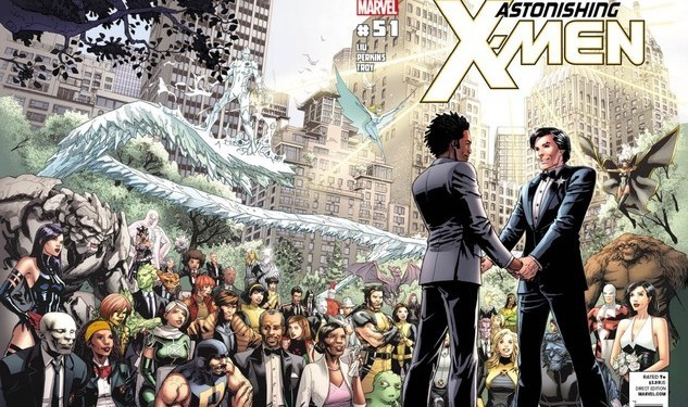 Another Gay X-Man's Title Canceled
