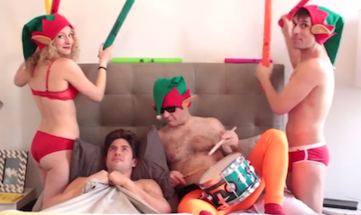 EXCLUSIVE: Christmas With the Skivvies