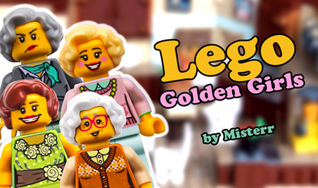 Here's Your Chance to Make Golden Girls Legos Happen
