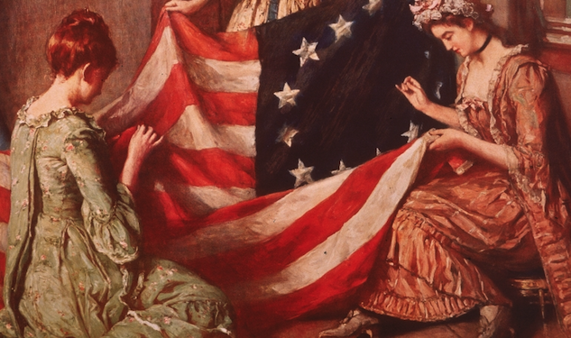 Betsy Ross Comes Out to a Psychic