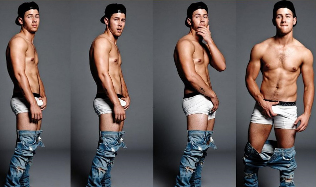Nick Jonas Shows Off His Calvins (And Much More)