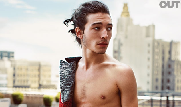 Ezra Miller Speeds Into New Role as The Flash