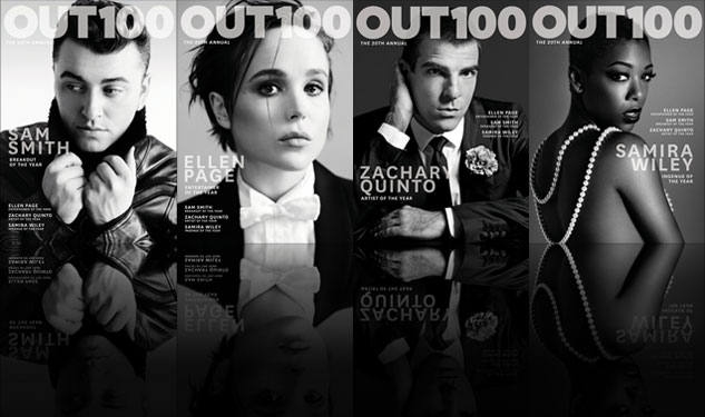 Out100 20th Anniversary Covers Revealed