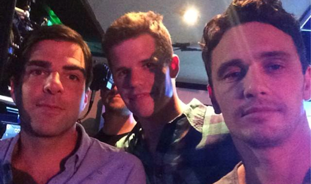 Is the World Ready for James Franco, Zach Quinto & Charlie Carver's Three-Way?