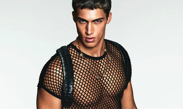 Versace's New Campaign is a Total Wet Dream