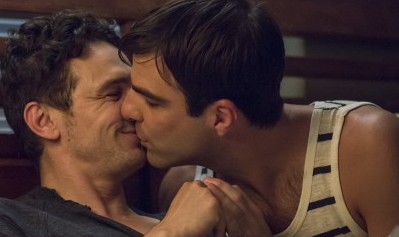 First Look: James Franco & Zachary Quinto Kiss in I Am Michael