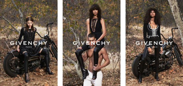 Givenchy SS15 Campaign