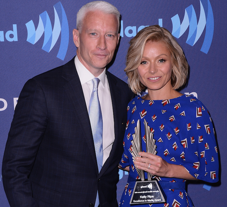 Kelly Ripa & Anderson Cooper