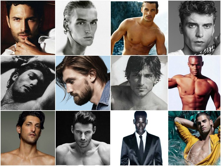 Male models over 50 years old