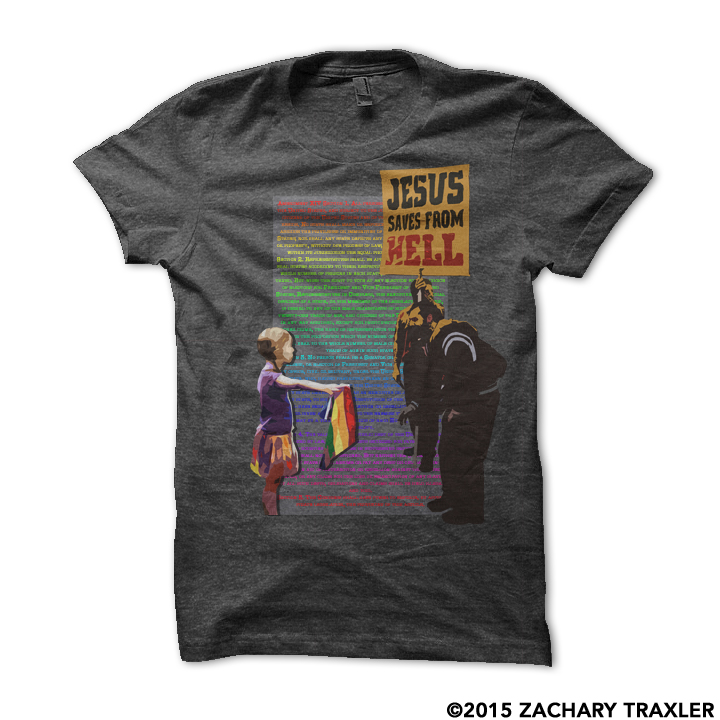 saved from hell tee