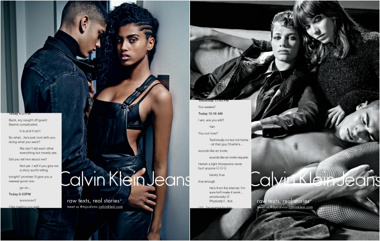 Calvin Klein jeans fall winter 2015