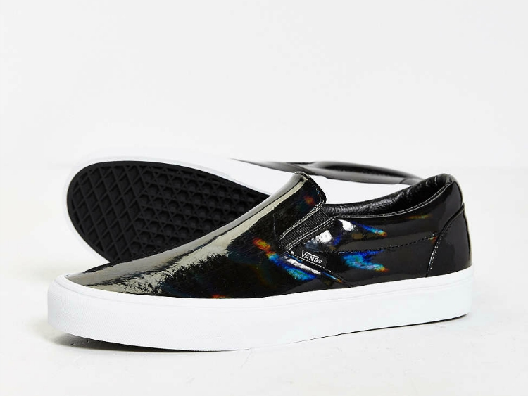 Daily Crush: Patent Leather Slip-On