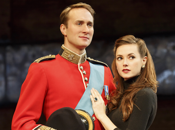 Oliver Chris & Lydia Wilson in King Charles III