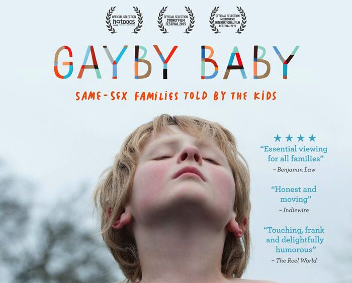 Gayby Baby will come to U.S. theaters in April 2016.