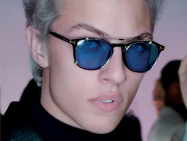 Lucky Blue Smith tom ford