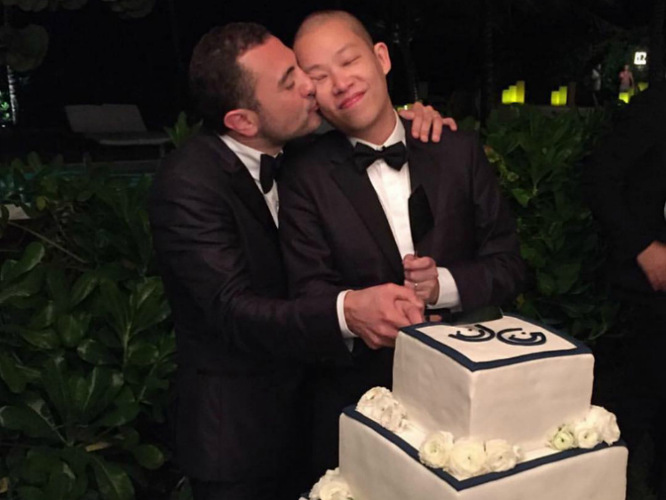 Jason Wu wedding