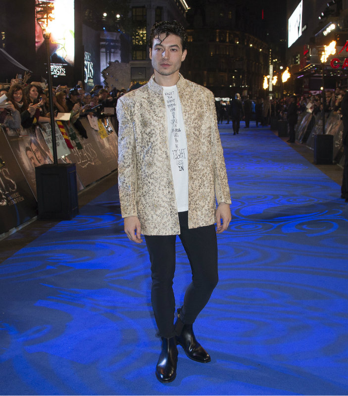 Ezra Miller, Fantastic Beasts and Where to Find Them