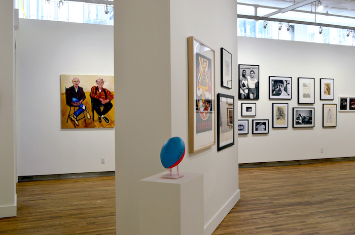 3 Installation View Expanded Visions  Fifty Years Of Collecting At Leslie Lohman Museum Of Gay And Lesbian Art 2017 2 Criya Lerner