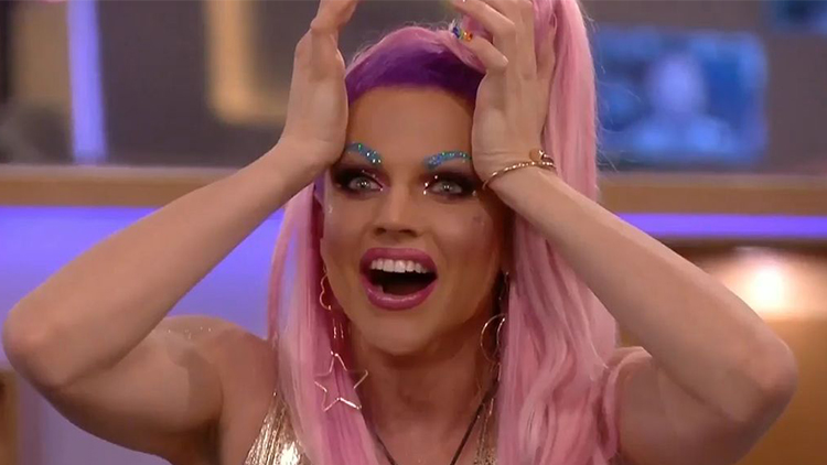 Courtney Act Crowned the Winner of Celebrity Big Brother