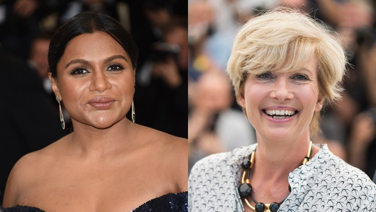 Mindy Kaling Emma Thompson To Co Star In Late Night Talk Show Comedy