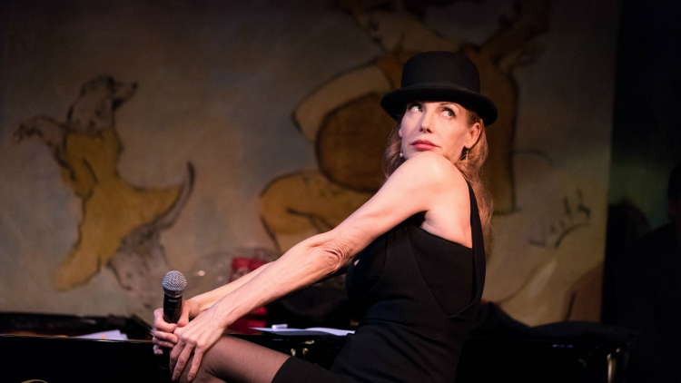 Ute Lemper At Carlyle