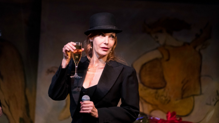 Ute Lemper At Carlyle By David Andrako