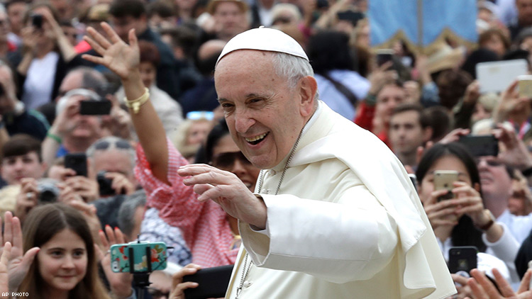 Pope Francis to Bishops: Keep Gay Men Out of the Priesthood