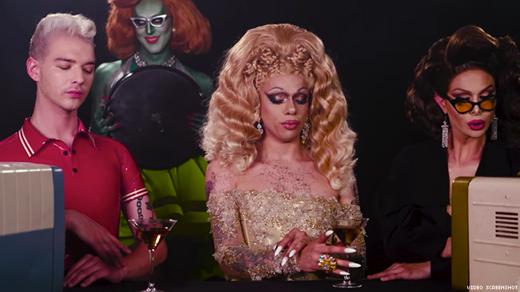 Drag Race's Aja Plays 11 Different Characters In Her New Music Video