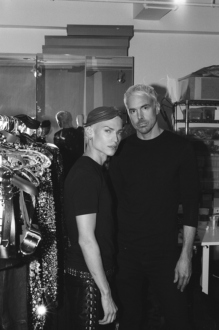 The Blonds Celebrating 18 Years Of Fashion S Queer Rock Star Couple