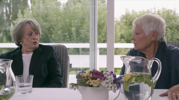 Maggie Smith Gets Shady in 'Tea With the Dames' Clip (Watch)