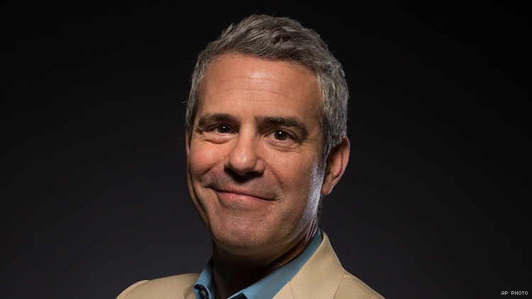 Andy Cohen Makes Decent Argument to Do Away with 'Top'/'Bottom' Labels