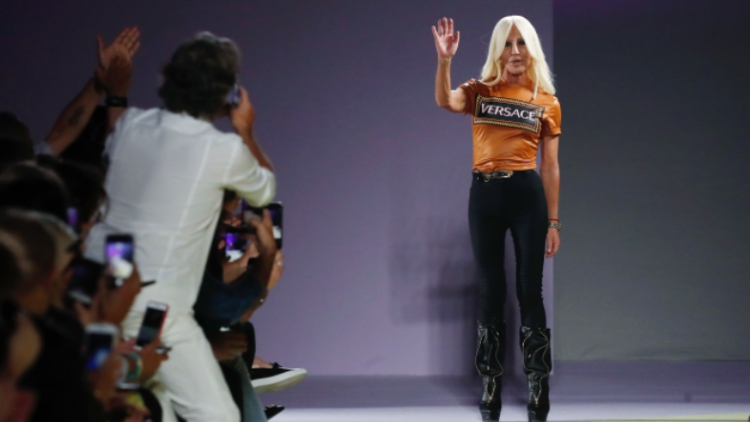 Donatella Versace Speaks Out: 'I Am NOT Going Anywhere'