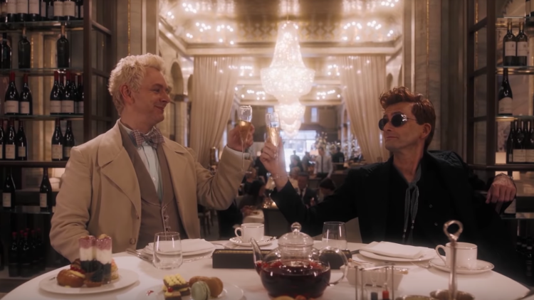 Angels & Demons Prepare for Armageddon In the First Trailer for Amazon's 'Good Omens'