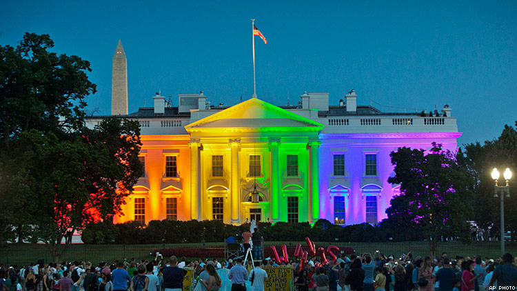 Michelle Obama Snuck Out of White House to Celebrate Marriage Equality