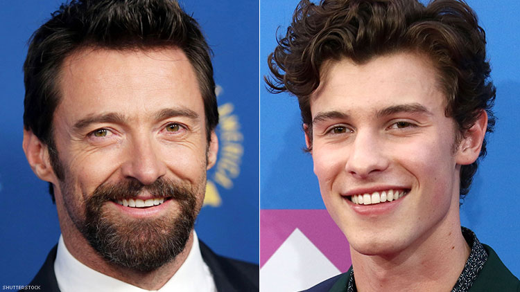 Shawn Mendes & Hugh Jackman Want You to Know They're Still Straight