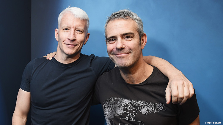 Andy Cohen Says He and Anderson Cooper Have Slept with the Same Person