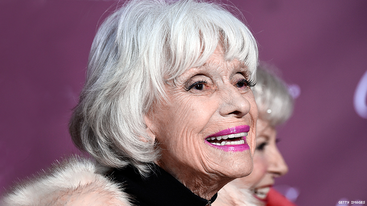 Carol Channing has died at 97.
