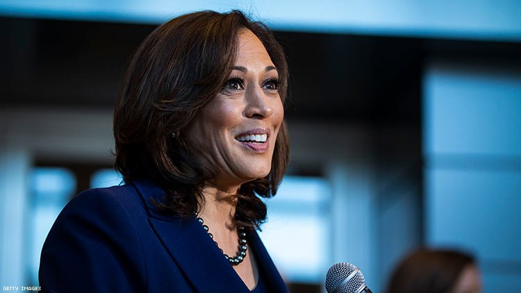 """Presidential candidate Kamala Harris says she takes """"full responsibility"""" for opposing transgender prisoners' surgeries as California attorney general."""