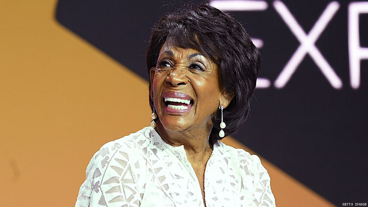 Maxine Waters Wants Full Equality for LGBTQ+ Folks