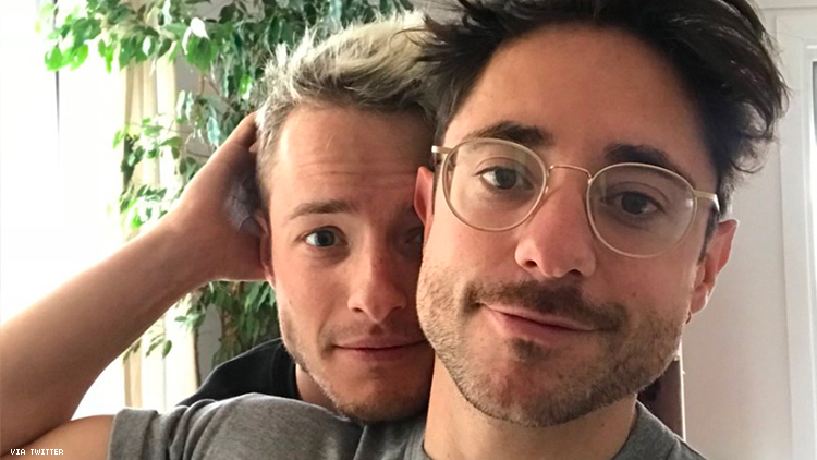 'Plebs' and 'The Crown' actor Ryan Sampson just came out as gay by tweeting a picture of his boyfriend.