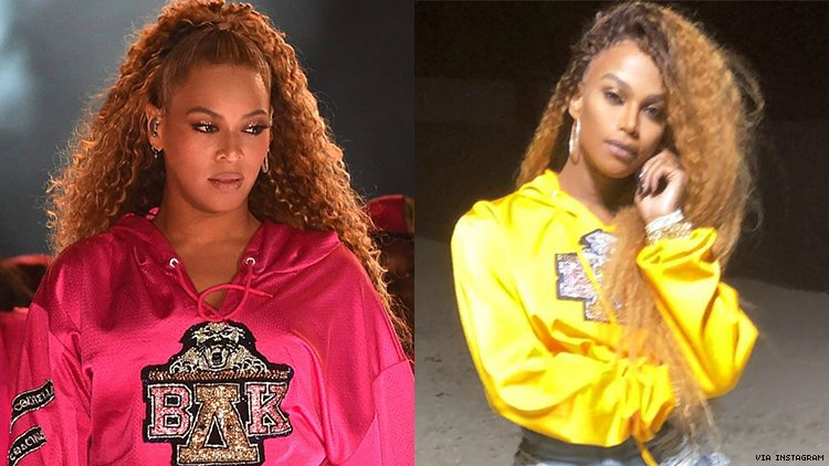 Beyonce and Miss Shalae