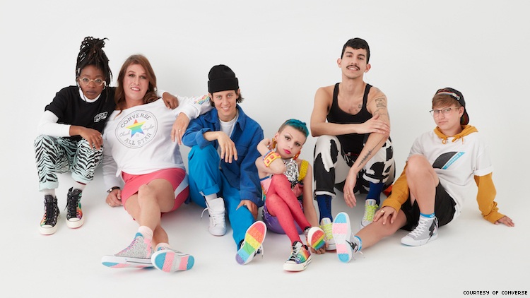 Converse Just Dropped Its New Pride Sneakers for Stonewall 50