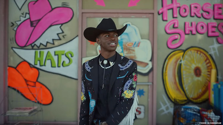 Lil Nas X Old Town Road video