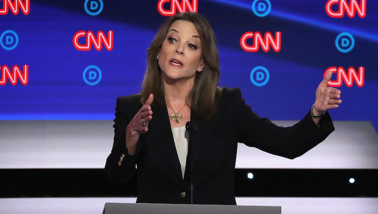 Marianne Williamson stood out at the 2020 Democratic presidential primary debates in Detroit on CNN.