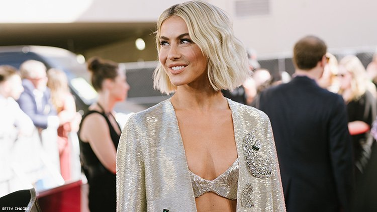 "Julianne Hough comes out as ""not straight."""