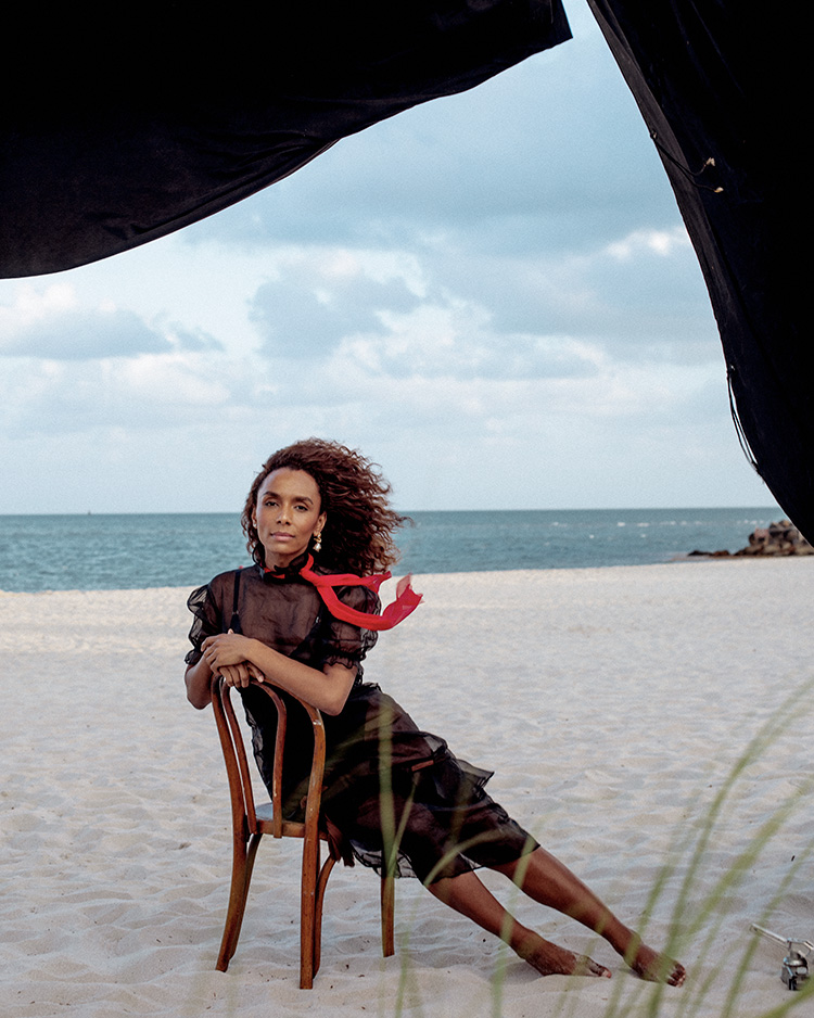 Janet Mock Photographed by Lia Clay Miller